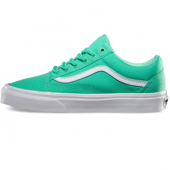 Vans Old Skool Shoes - Biscay/Green/True White - 3.5