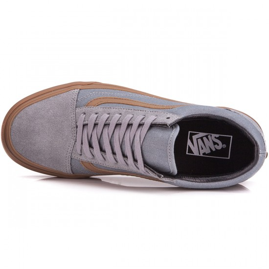 Vans Old Skool Shoes - Gum/Sidestripe Monument - 6.0