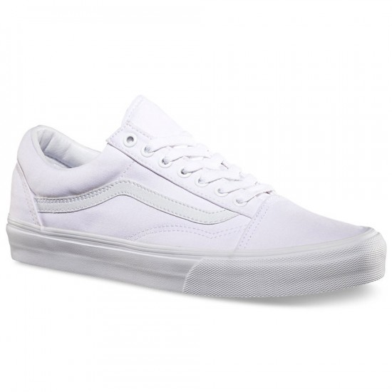 Vans Old Skool Shoes - True White - 8.0