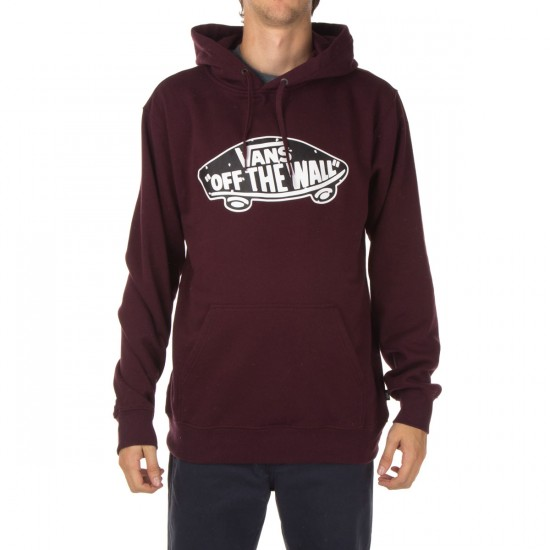 Vans OTW Pullover Fleece Hoodie - Port/Palm Ditsy
