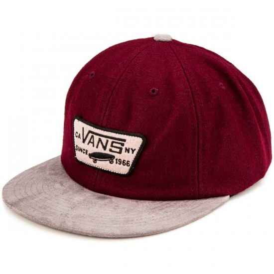 Vans Patched Unstructured Hat - Port/Grey