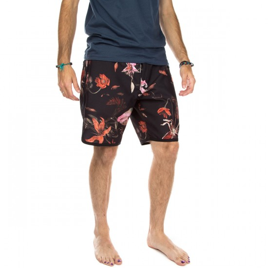 Vans Planetary Boardshort Boardshorts - Black Death Bloom