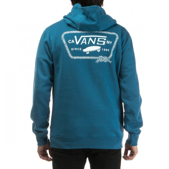 Vans Port Patch Pullover Hoodie - Blue Ashes