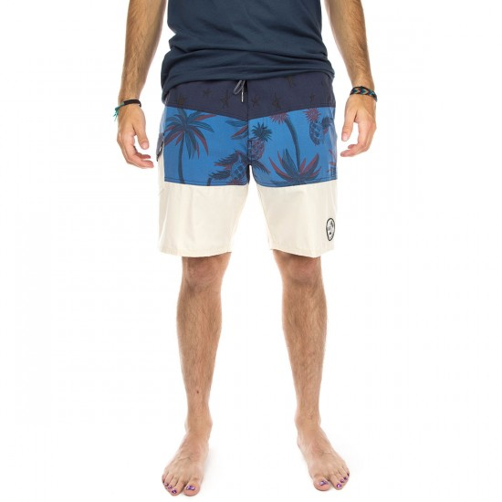 Vans Psych Panel Boardshorts - Black Iris