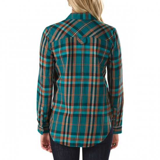 Vans Rabble Flannel Shirt - Shaded Spruce