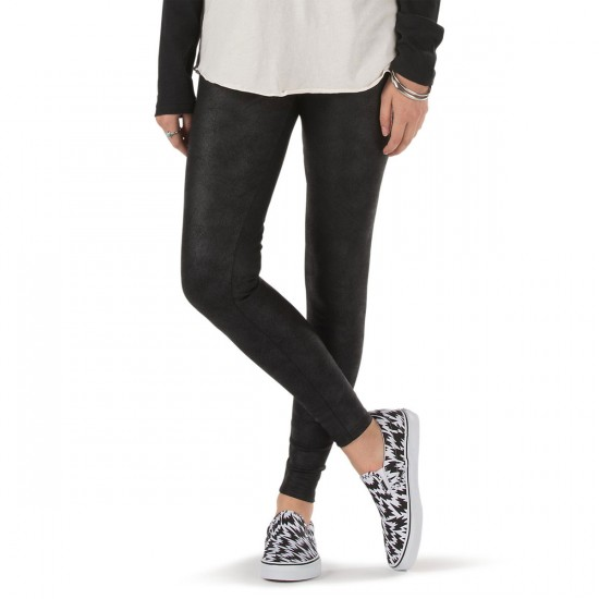 Vans Radio Active Legging Pants - Black