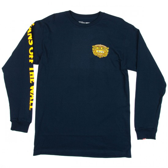 Vans Regal Artois Long Sleeve T-Shirt - Navy