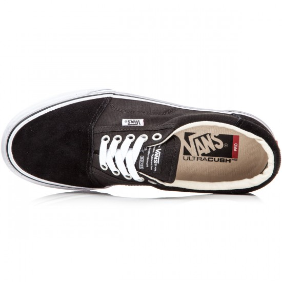 Vans Rowley Solos Shoes - Black/White - 8.0