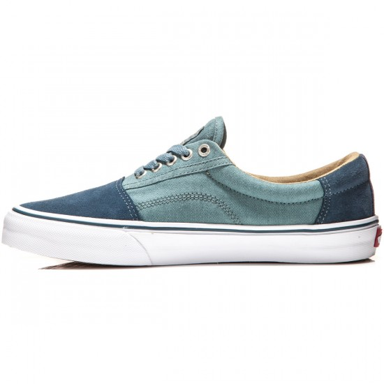 Vans Rowley Solos Shoes - Herringbone/Blue - 8.0