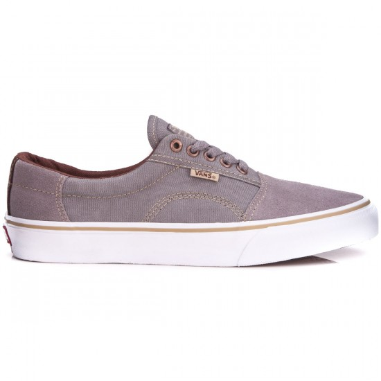 Vans Rowley Solos Shoes - Medium Grey/Brown - 10.0