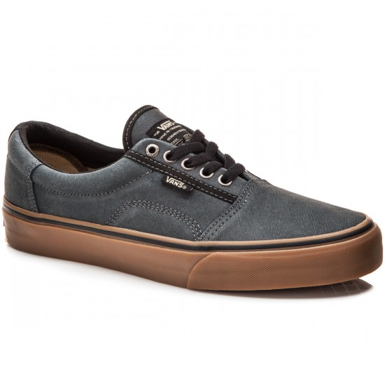Vans Rowley Solos Shoes - xtuff-black-gum - 10.0