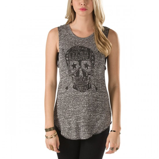 Vans Saloon Tank - Black