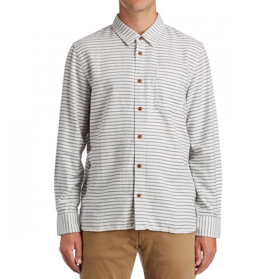 Vans Sebren Shirt - Marshmallow/Dress Blues