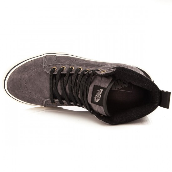 Vans Sk8-Hi MTE Shoes - Pewter/Wool - 6.0