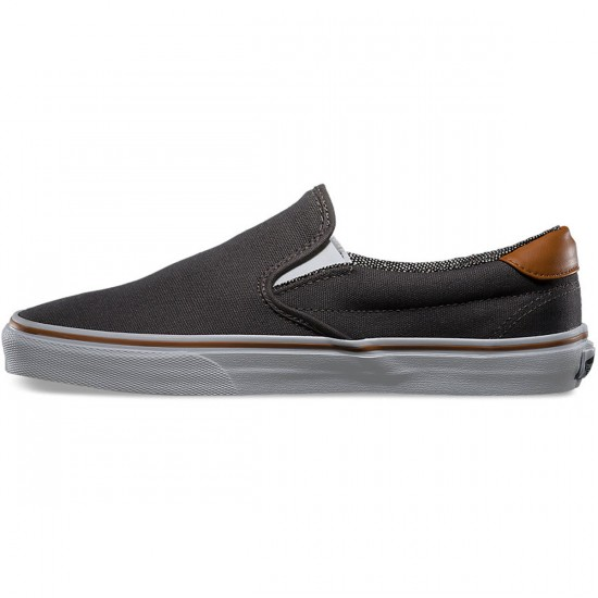 Vans Slip-On 59 Shoes - Pewter/Tweed - 8.0