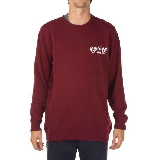 Vans Sloat Sweatshirt - Bordeaux