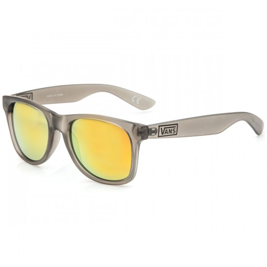 Vans Spicoli 4 Sunglasses - Clear Frosted Charcoal