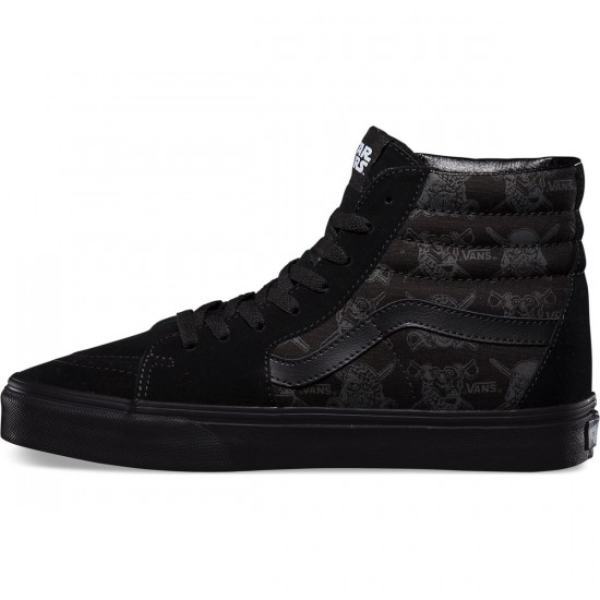 Vans Star Wars Sk8-Hi Shoes - Dark Side/Darth Storm - 13.0