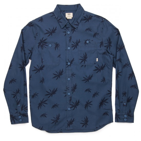 Vans Thorman Woven Shirt - Dark Denim
