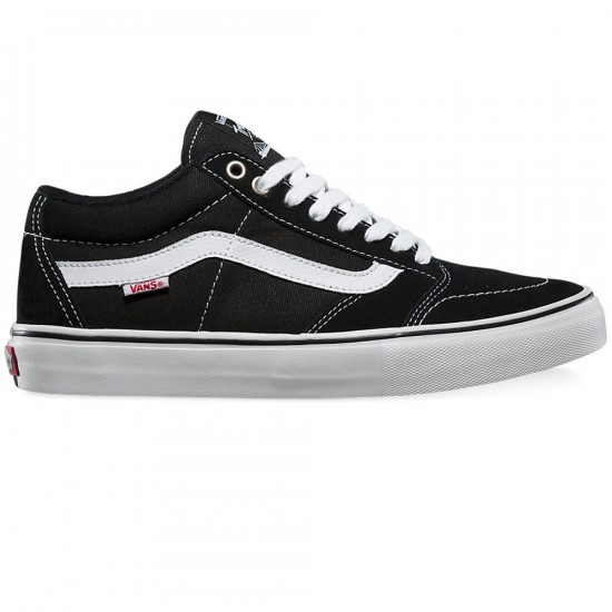 Vans TNT SG Shoes - Black/White - 9.0