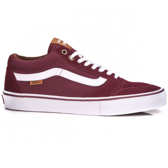 Vans TNT SG Shoes - Port Leather - 6.5