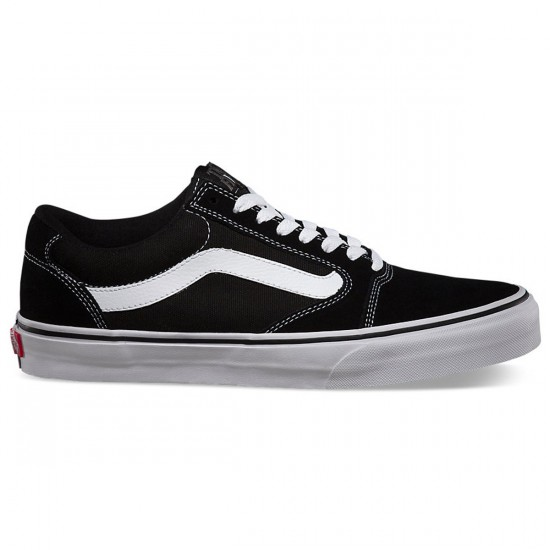 Vans TNT 5 Shoes - Black/White - 8.0