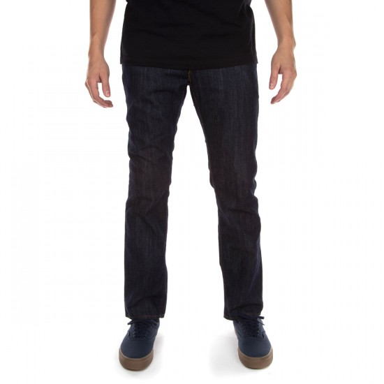 Vans V56 Standard Pants - Indigo Midnight Raw - 29 - 30