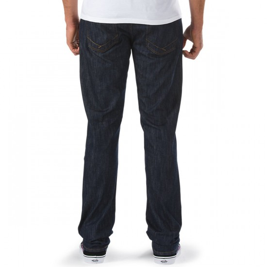 Vans V56 Standard Pants - Midnight Indigo Raw - 32 - 32