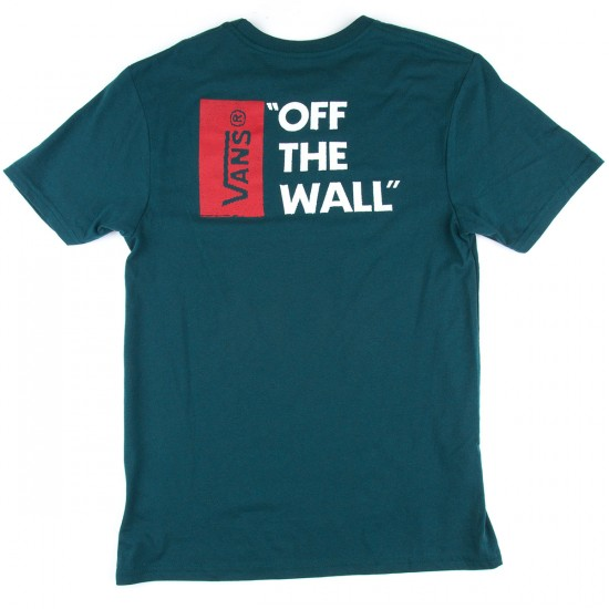Vans Off The Wall II T-Shirt - Atlantic Deep Heather