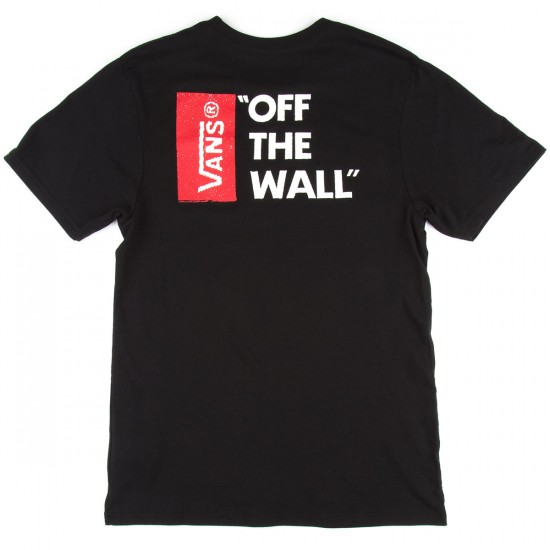Vans Off The Wall II T-Shirt - Black