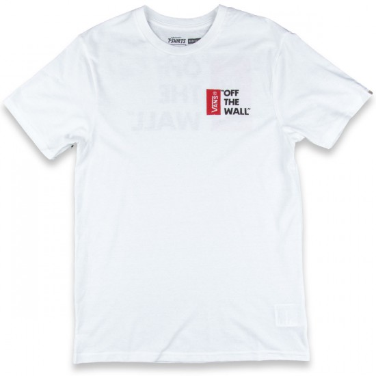 Vans Off The Wall II T-Shirt - White