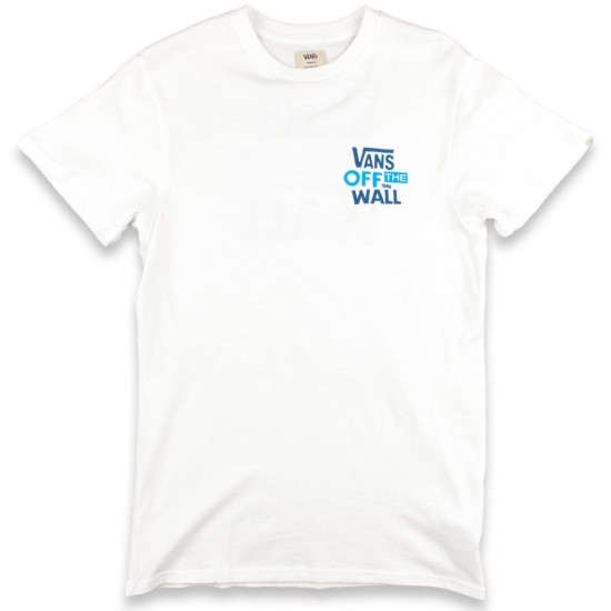 Vans Vintage Vans Stacked T-Shirt - White