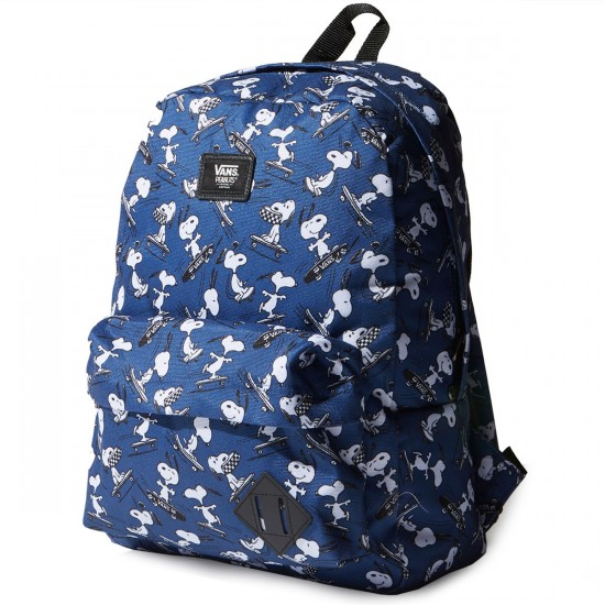 Vans X Peanuts Old Skool II Backpack - True Navy