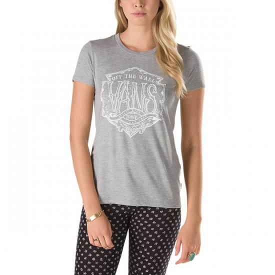 Vans Yard Shop T-Shirt - Grey Heather