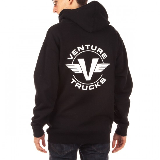 Venture OG Throwback Pullover Hoodie - Black