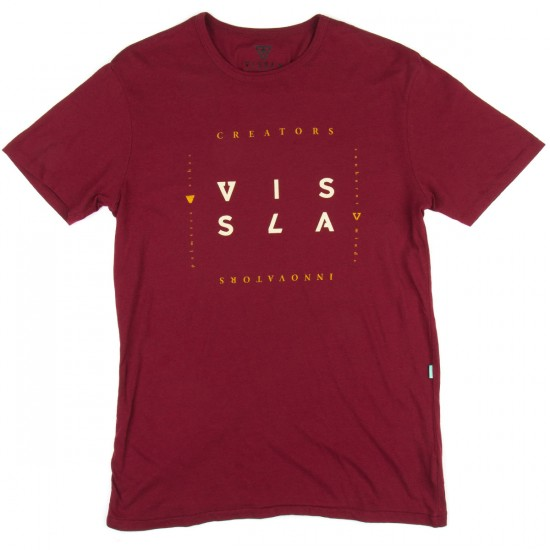 Vissla Block T-Shirt - Blood