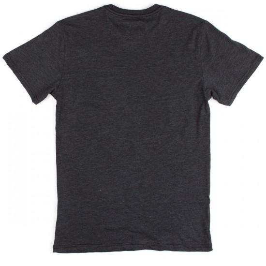 Vissla Everything T-Shirt - Black Heather