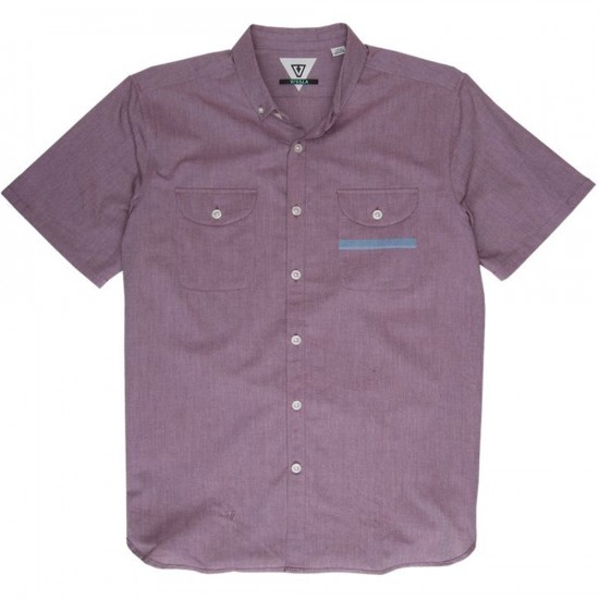 Vissla Planer Short Sleeve Woven Shirt - Port