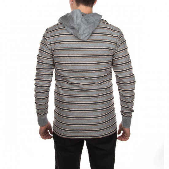 Vissla Strands Crew Hoodie - Grey Heather