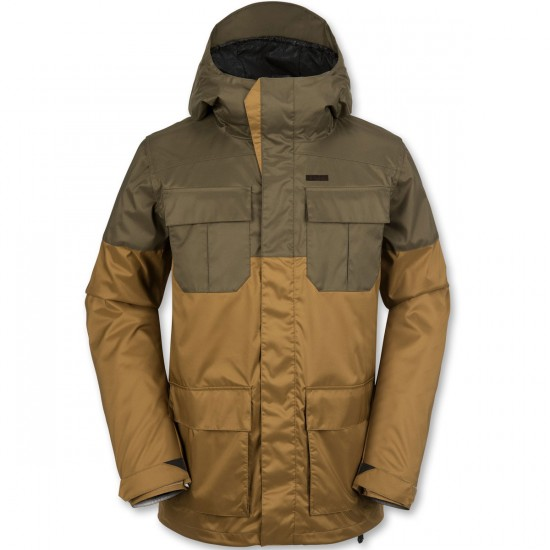 Volcom Alternate Snowboard Jacket - Caramel