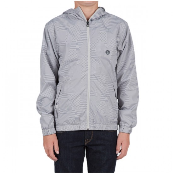 Volcom Big Youth Ermont Print Jacket - Dark Grey