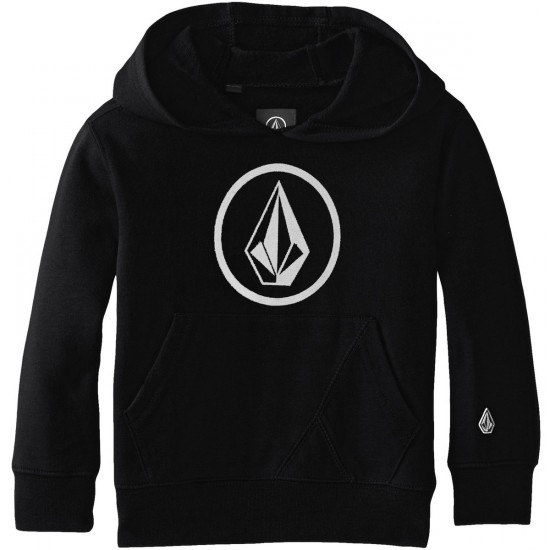 Volcom Big Youth Stone Pullover Hoodie - Black