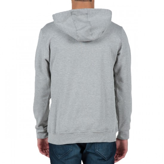 Volcom Brando Hoodie Sweatshirt - Heather Grey