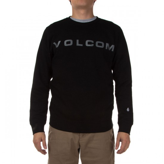 Volcom Certified Crew Sweatshirt - Black