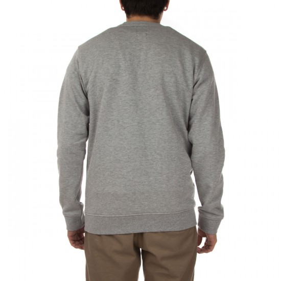 Volcom Certified Crew Sweatshirt - Heather Grey
