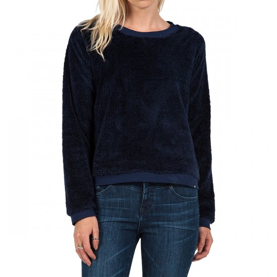 Volcom Cozy Bear Pullover Sweater - Midnight Blue
