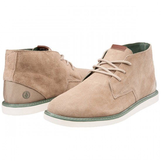 Volcom Del Mesa Shoes - Oxford Tan - 9.0