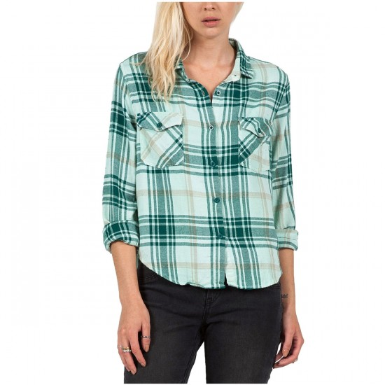 Volcom Desert Coast Shirt - Evergreen