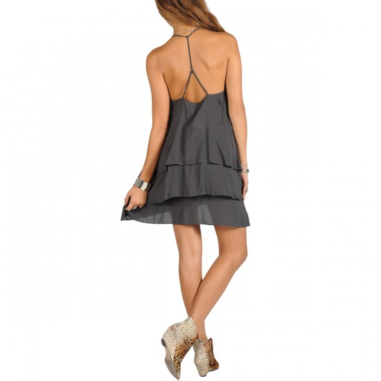 Volcom Ditsy Dress - Vintage Black