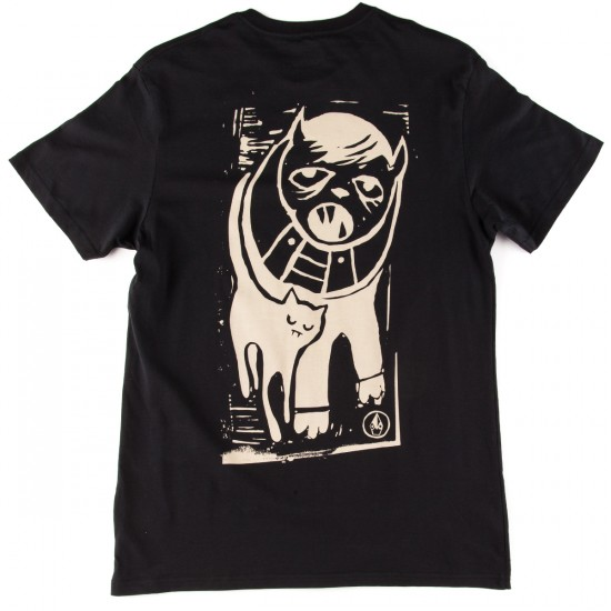Volcom Don Pendleton Cat T-Shirt - Black